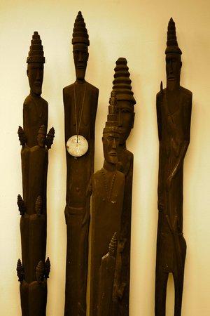 Pousada Casa do Sandalo, Boutique Guesthouse: collection  of Timorese Traditional Art