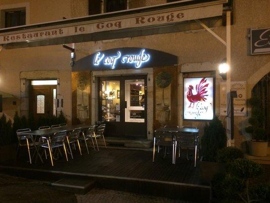 restaurant st genis pouilly