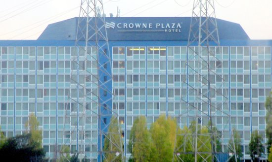 Crowne Plaza San Francisco Airport: Crowne Plaza, South San Francisco Airport, Burlingame, Ca