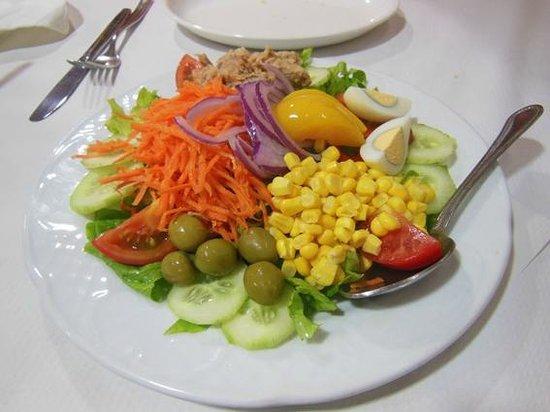 Restaurante La Cofradia: Insalata mista