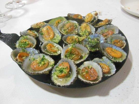Restaurante la cofradia: Lapas