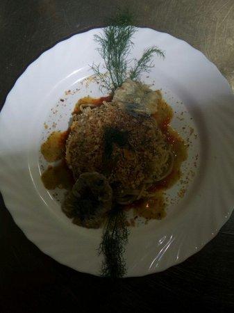 Ambasciata d'Ortigia: Spaghetti sarde e fiocchetto selvatico