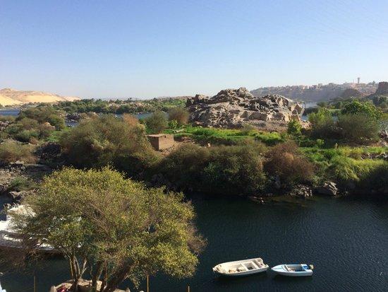 Ounaty Ka : Looking from the terrace over the Nile