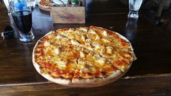 Kiboko Grill - Ubuntu Residence : Une bonne pizza