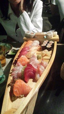 Sashimi e sushi di Nu