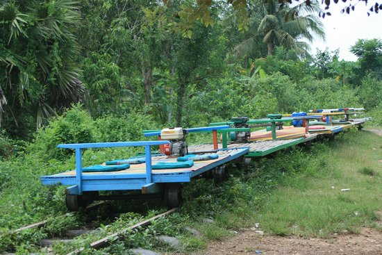 Image result for bamboo train