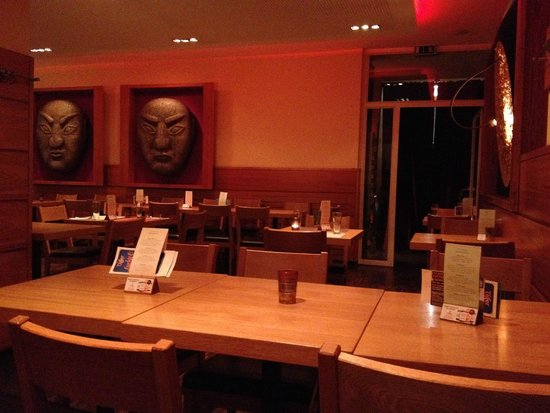 Mongo's Restaurant Essen: Restaurant room