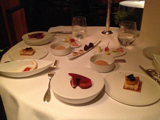 Pierre Gagnaire: Dessert -début, 2014