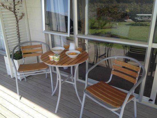 Anchor House : deck