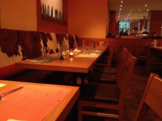 Mongo's Restaurant Essen: Sitting