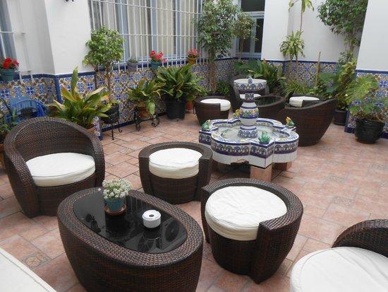 Hotel Mediterráneo Carihuela: Lounge area