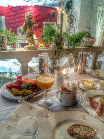 Die Swaene: Ресторан