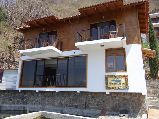 Atitlan Villas: Veranda I and Veranda II, above the office and workout facility