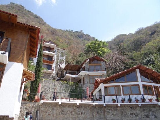 Atitlan Villas: View of villas from the dock