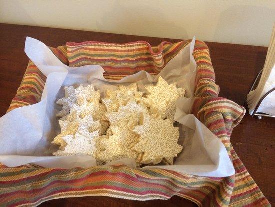 WilloBurke Inn & Lodge: Afternoon sweet treats