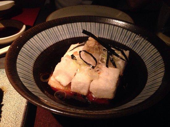 19 Sushi Bar: Agadashi tofu
