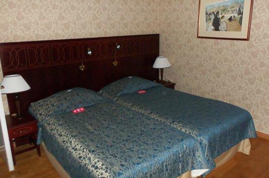 Cumulus Resort Imatran Valtionhotelli: Замечательно удобные кроватки...