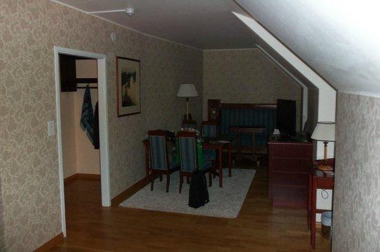 Cumulus Resort Imatran Valtionhotelli: Наш мини-люкс