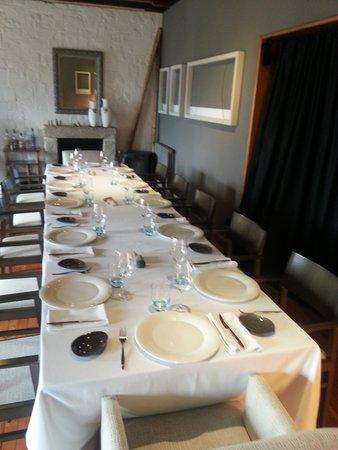 Restaurante Regueiro: comedor primera planta