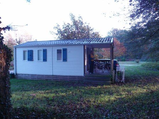 Camping Huttopia Les Châteaux : de mobile home