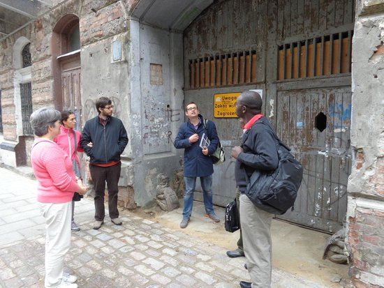 Adventure Warsaw: WWII site in the old Jewish ghetto