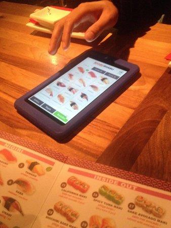 Shabu Shabu - Rotterdam Center: Tablet