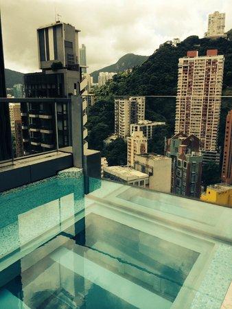 Hotel Indigo Hong Kong Island Pool With Gl Bottom Floor