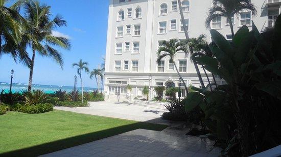 Moana Surfrider A Westin Resort Spa Outside The Wedding Chapel