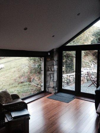 Tyddyn Iolyn Farmhouse: Converted stable