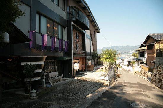 Hotel Kikunoya : View from the front