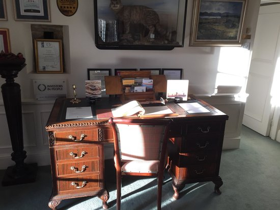 The Glenmorangie House: Reception