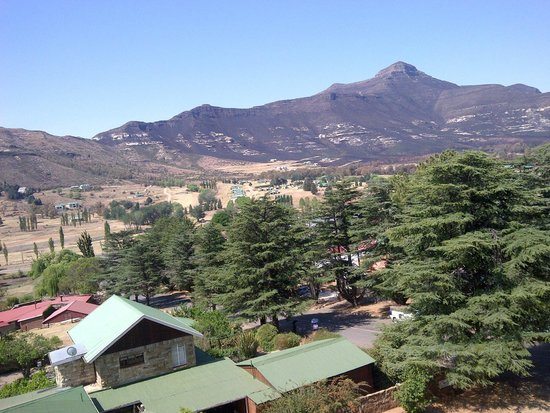 Protea Hotel Clarens: view from balcony