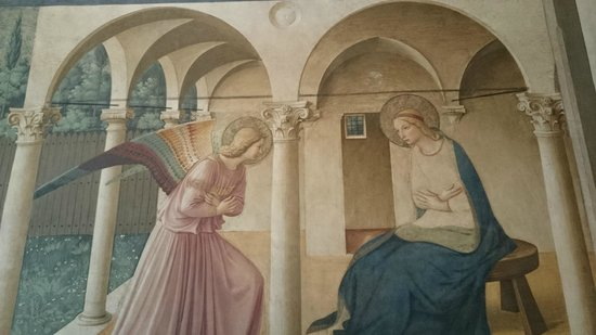 Museo di San Marco: The Annunciation by Fra Angelico