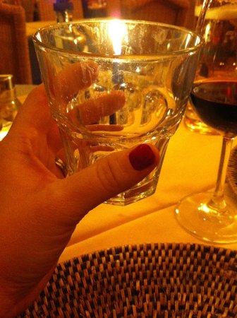 Da Pippo: Unclean glass