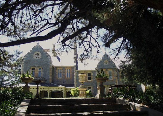 Abercrombie House: The main house