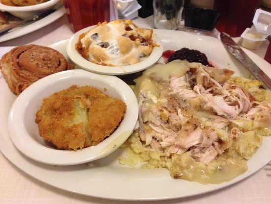 Heaven on a plate! - Picture of Mary Mac\'s Tea Room, Atlanta ...