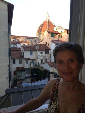 B&B Residenza della Signoria: View of Duomo from Jnr Suite