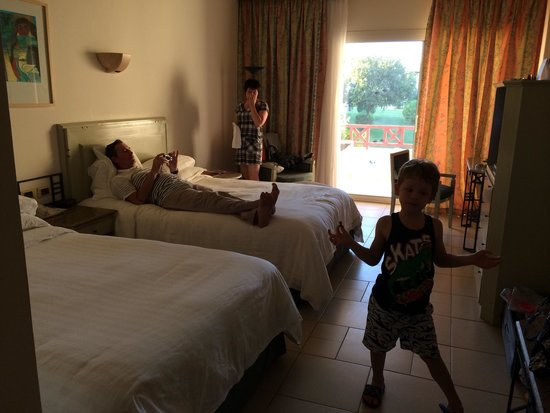 Sharm El Sheikh Marriott Resort: Номер для 3взр+1реб