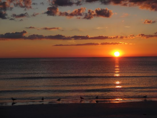 Sunset At Beach Picture Of Tropical Beach Resorts Siesta