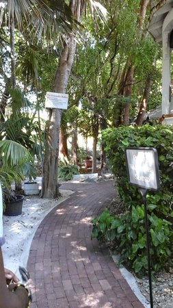 The Key Largo Conch House Restaurant & Coffee Bar: entrance