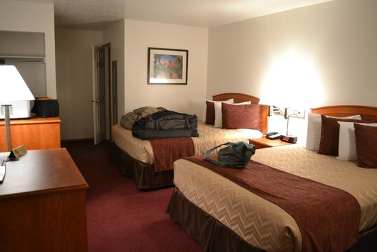 Austin's Chuckwagon Lodge and General Store : Room