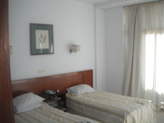 Residencial Greco: our room