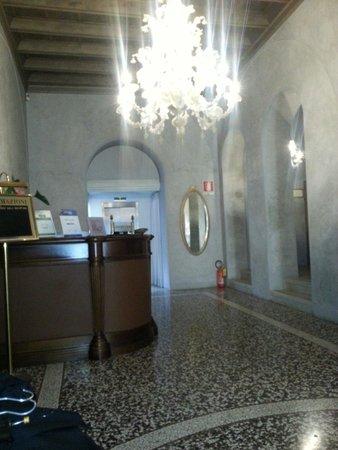 Albergo Cappello: Reception...