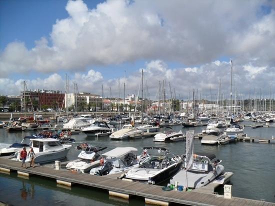 Dom Manuel Hotel: The marina at Lagos