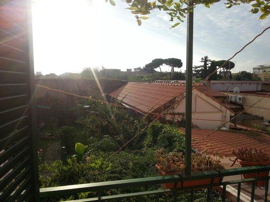 Abbraccia Morfeo: Balcony view/Pohled z balkónu