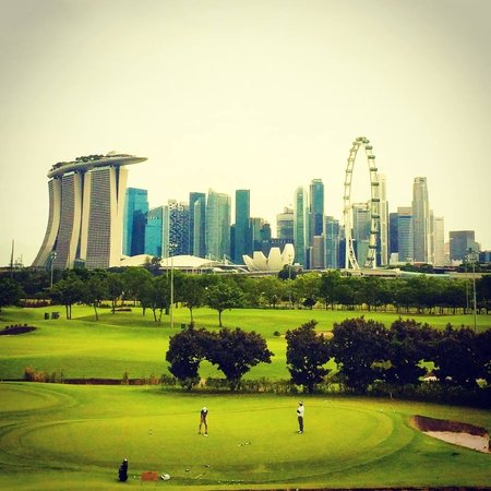 Marina Bay Golf Course: Gorgeous View
