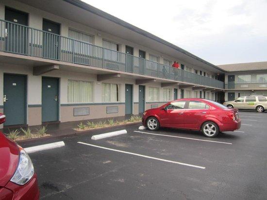 Super 8 Kissimmee: l'hôtel