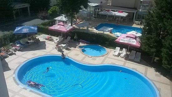 Hotel Klisura: вид с балкона