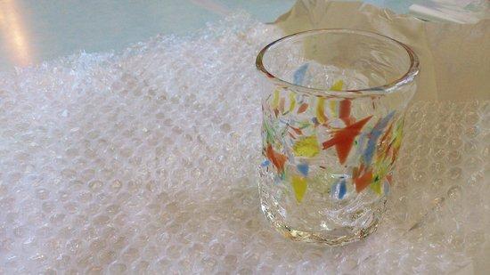 Ryukyu Glass Village : the glass i made