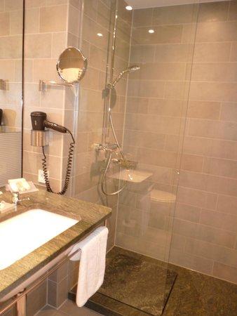 Hilton Garden Inn Stuttgart NeckarPark: Salle de bain